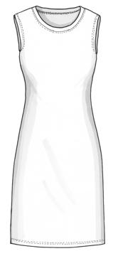 Plaggskiss modell Liliane