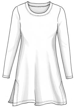 Plaggskiss modell Rita