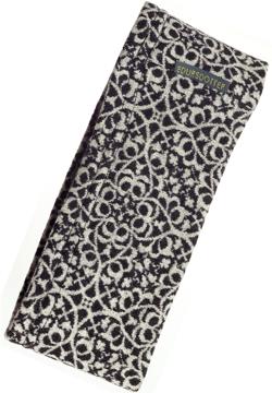 Pannband Florence svartvit