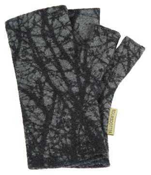 Torgvantar Körsbär grå svart