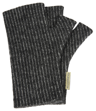 Torgvantar Tät rand svartvit