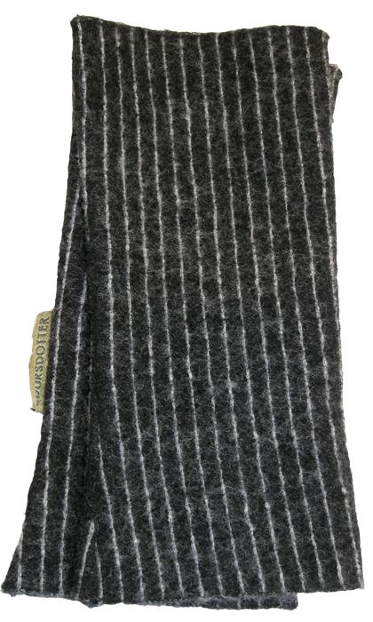 Filtad handledsvärmare Tät rand svartvit