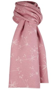 Halsduk i filtad ull – Måra rosa