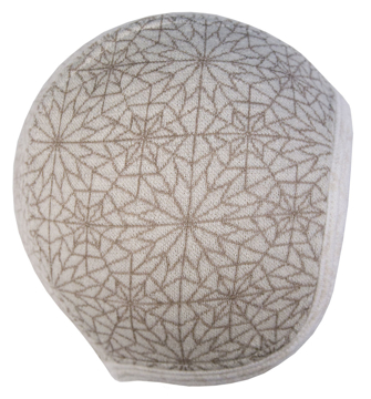 Hätta 3-6 mån Hexagon beige