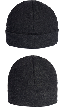 Mössa i filtad ull – Uni svart
