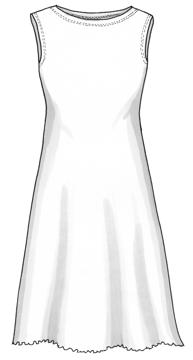 Plaggskiss modell Lilly