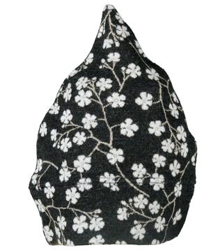 Barnmössa 6-12 mån Blomkvist svart