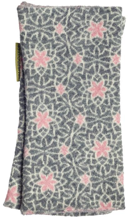 Filtad handledsvärmare Tulip grå rosa